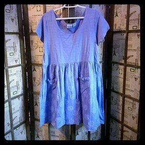🌻EUC Multi-Pattern Dress with Pockets!